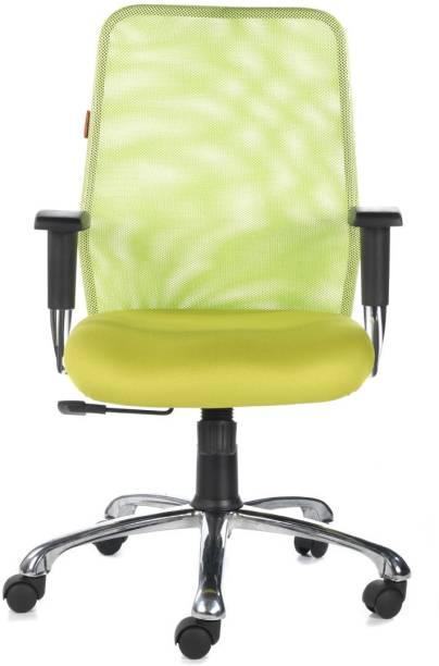 Bluebell Armada MidBack Fabric Office Arm Chair