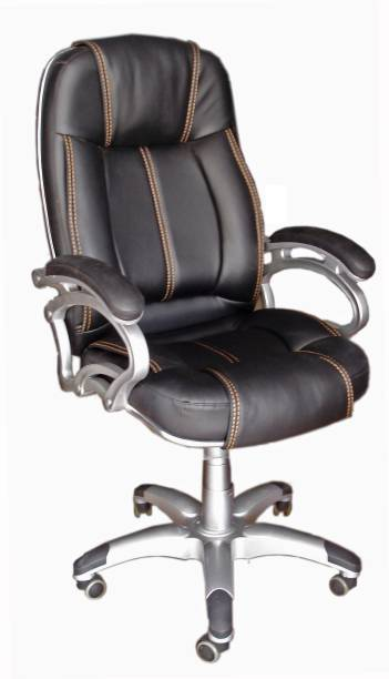 TimberTaste LILLY Leatherette Office Arm Chair