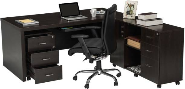 Durian DWS/34756/A Engineered Wood Office Table