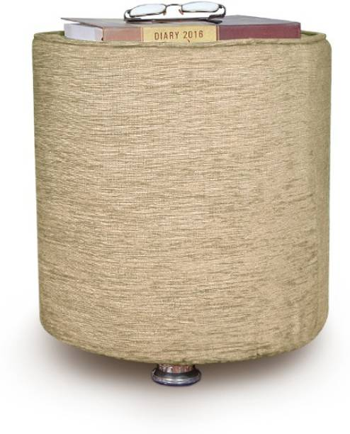 Angel Furniture Solid Wood Pouf
