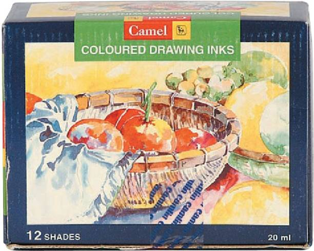 Camlin Coloured Drawing Inks