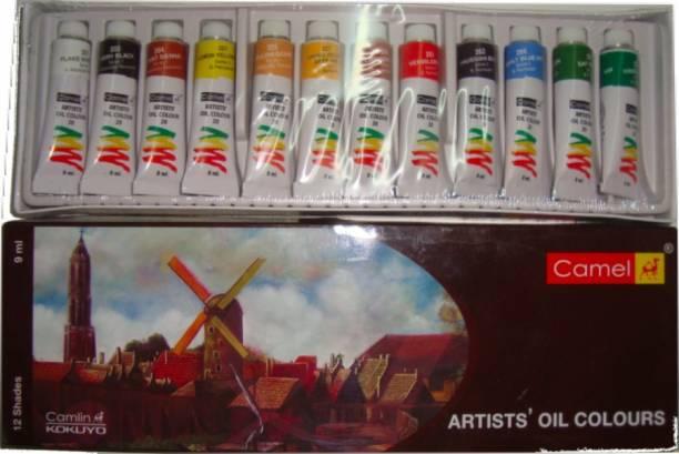 Camlin Artists Oil Colors 20 M 12