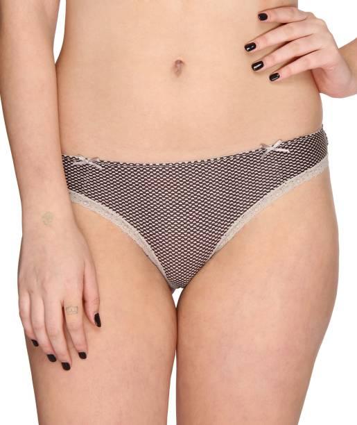 87010f7b3b5a8 Vivity KFP-13 Women s Bikini Brown Panty