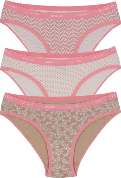 4b5192e525403 Amante Women s Hipster Pink Panty