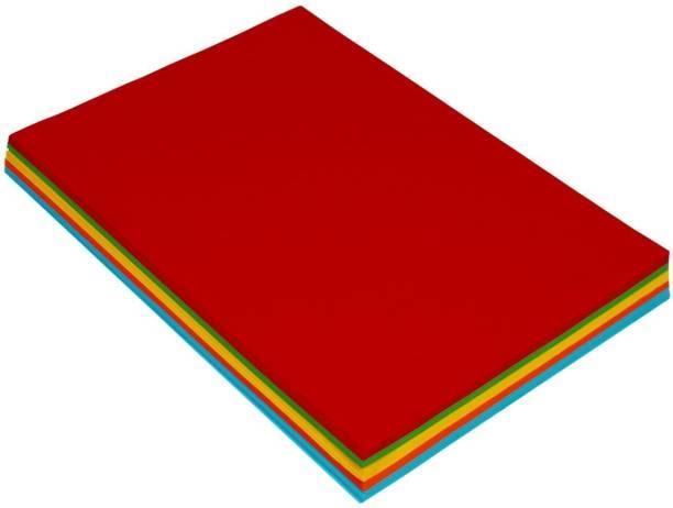 SADAF Colorful Unruled A4 100 gsm Craft paper