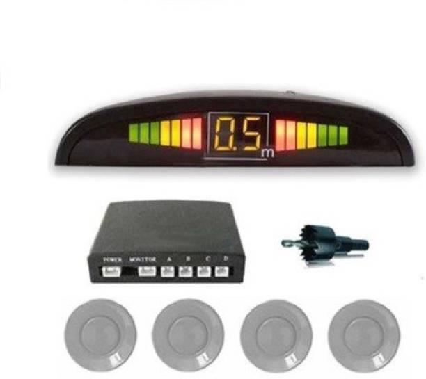 AutoSoul Reverse Parking Sensor Silver- RPSS69 Silver Electric Eye Parking Sensor