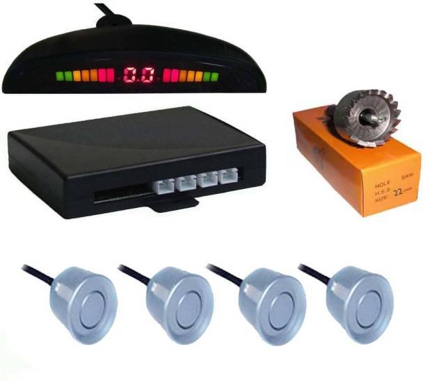 Dvis DVS98 Car Safety System Silver Color Parking Sensor