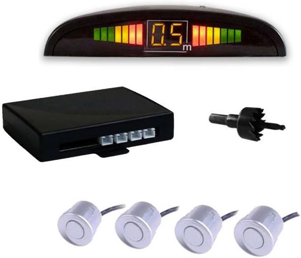 AUTO PEARL PS2W79 Premium Quality Car White Parking Reverse Sensors For - Tata Indigo CS - Set of 4Pcs Parking Sensor