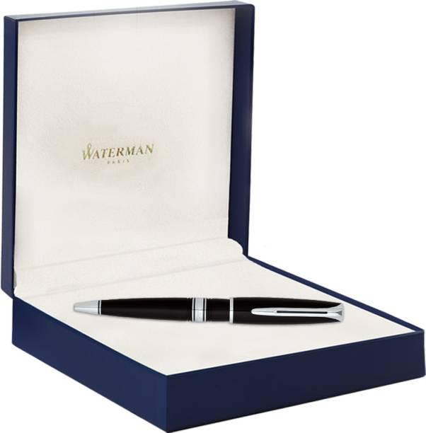 Waterman CHARLESTON EBONY BLACK CT Ball Pen