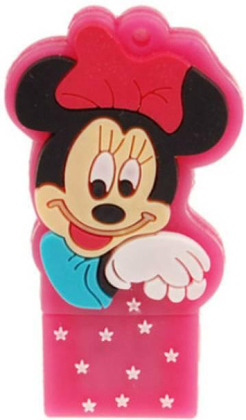 Microware Minnie Mouse Shape 4 GB Pen Drive
