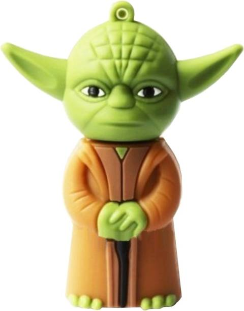 Microware Star Wars Yoda Space Alien Shape 4 GB Pen Drive