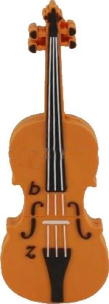 Microware Violin Shape Designer Fancy 4 GB Pen Drive