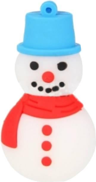 Microware Snowman Shape 4 GB Pen Drive