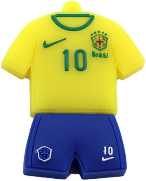 a3fd5455689 GeekGoodies Fancy Brazil Football Soccer Jersey 8 GB Pen Drive