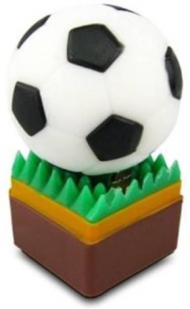 microware Football Soccer Shape 4 GB Pen Drive