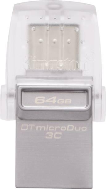 KINGSTON DTDUO3C/64GBIN 64 GB OTG Drive