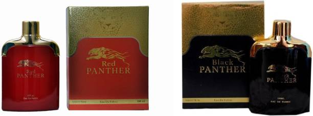 RAMCO Black and Red Panther Combo Eau de Parfum  -  200 ml