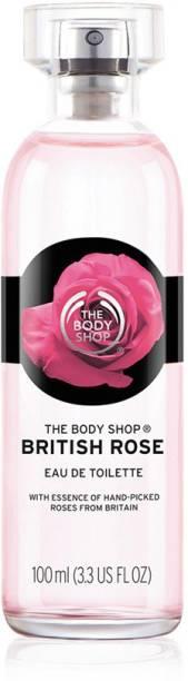 THE BODY SHOP British Rose Eau de Toilette  -  100 ml