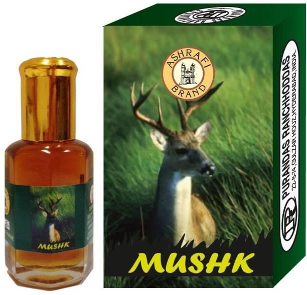Purandas Ranchhoddas PRS Mushk Attar Eau de Parfum  -  10 ml