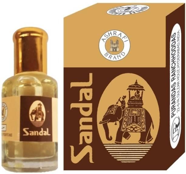 Purandas Ranchhoddas PRS Sandal Attar Eau de Parfum  -  10 ml