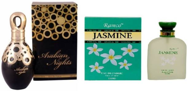 RAMCO Arabian Nights and Jasmine Combo Perfume Eau de Parfum  -  200 ml