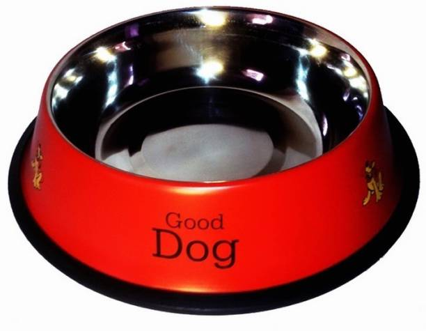 Pet Club51 Round Stainless Steel Pet Bowl