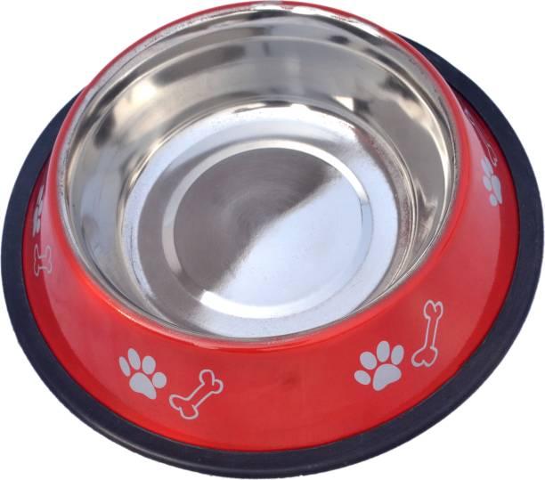 Pet Club51 Pet Club51 Round Stainless Steel Pet Bowl