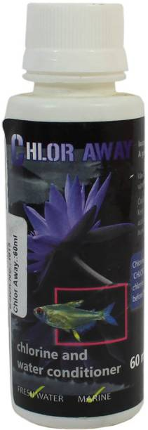 AQUATIC REMEDIES CHLOR AWAY 60ml - Chlorine and chloramine remover 0.06 l Wet Young Fish Food