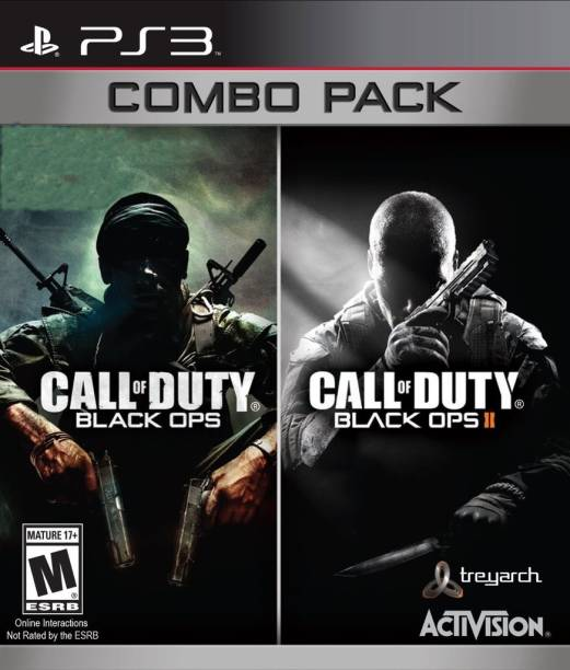 Call of Duty Black Ops Combo Pack (COD Black Ops and COD Black Ops II)
