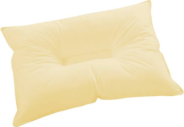 ZIKRAK EXIM Polyester Fibre Solid Sleeping Pillow Pack of 1