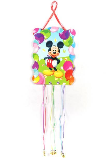 FUNCART Mickey Mouse Pull String Pinata