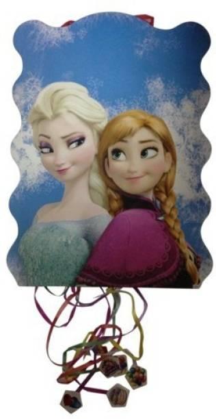 FUNCART Frozen Paper pinata (khoi bag) Pull String Pinata