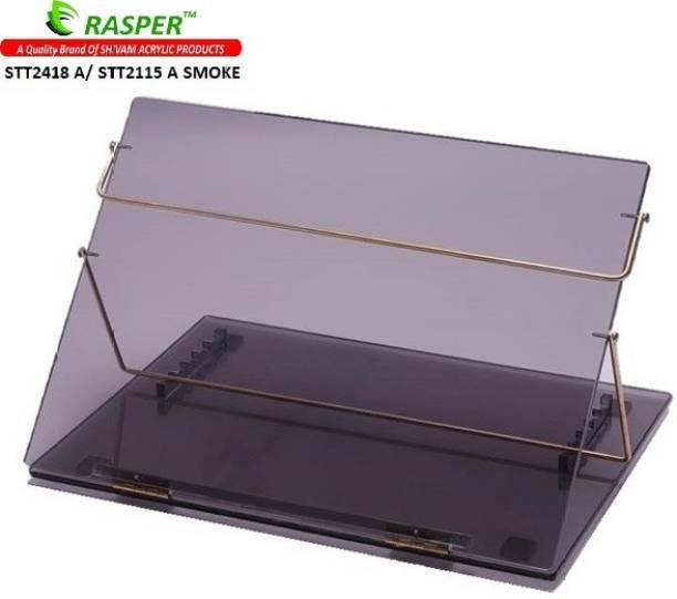 RASPER Acrylic Table Top (21x15 Inches) Plastic Portable Laptop Table