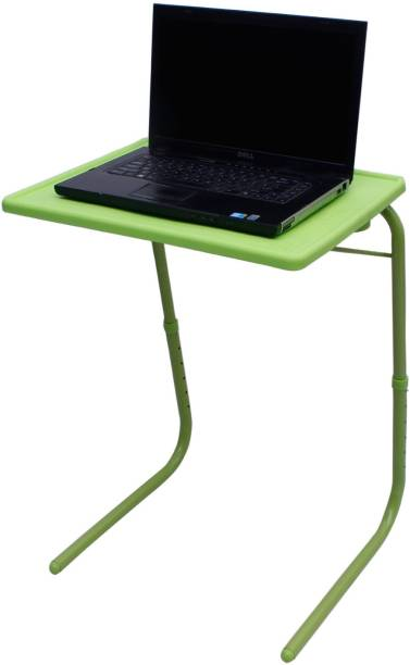 NA Green Plastic Portable Laptop Table