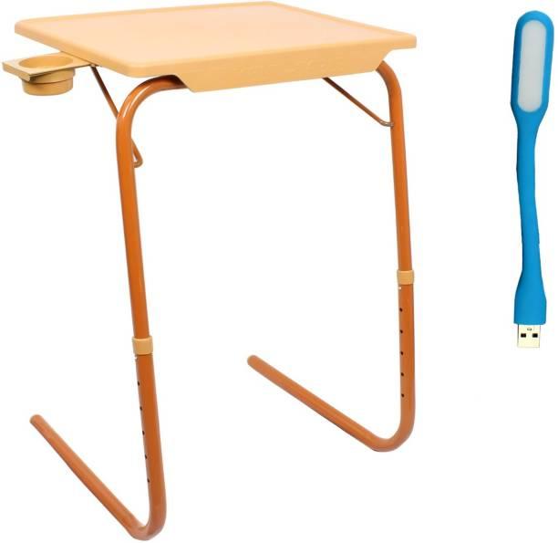 NA Sandle Wood Plastic Portable Laptop Table