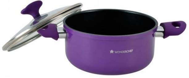 Wonderchef Elite Casserole with Lid 20cm  Induction Base  Pot 3 L with Lid