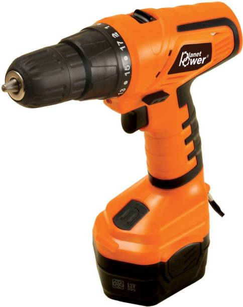 Planet Power PCD12 Cordless Drill / Driver Pistol Grip Drill