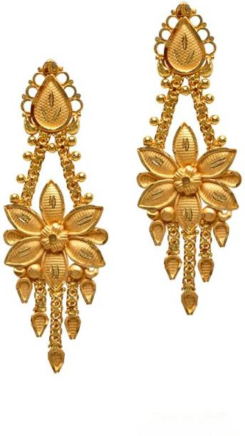 Senco Gold Yellow 22kt Drop Earring
