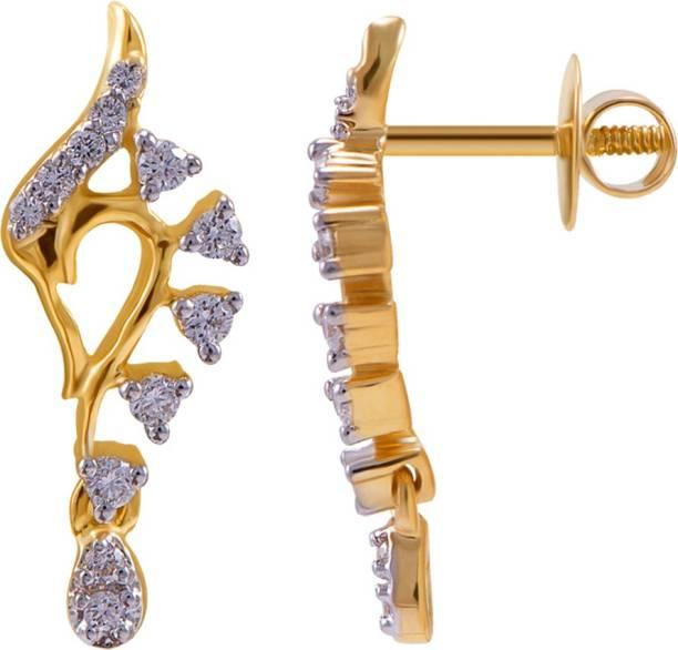 edfe5d4b5 Joyalukkas Earrings - Buy Joyalukkas Earrings Online at Best Prices ...