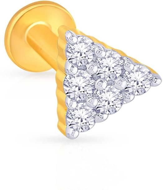 Malabar Gold And Diamonds Nose Rings Studs - Buy Malabar