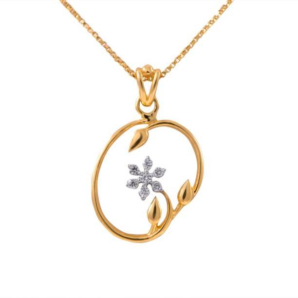 Joyalukkas pendants lockets buy joyalukkas pendants lockets online joyalukkas pride diamond collection pendant 18kt yellow gold pendant aloadofball Images