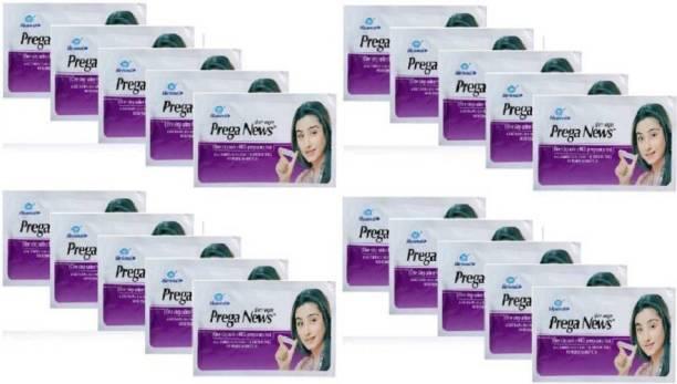 Mankind Praganews Pack of 20 Pregnancy Test Kit