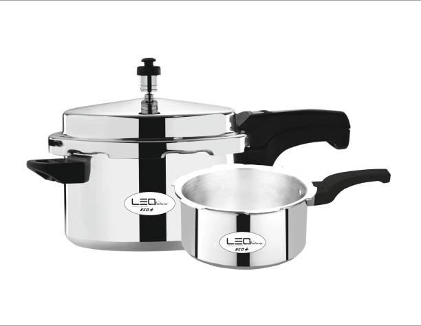 Leo Natura Eco + 5 L, 3.5 L Induction Bottom Pressure Cooker