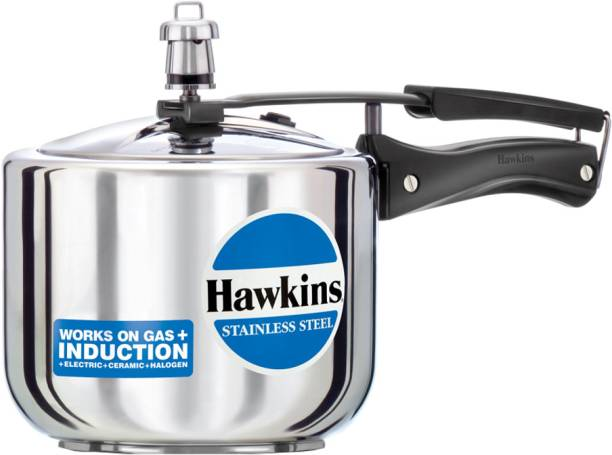 HAWKINS Stainless Steel HSS3T 3 L Induction Bottom Pressure Cooker