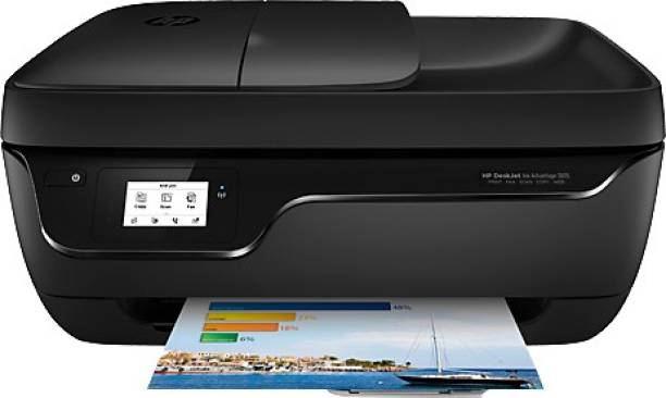 HP DeskJet Ink Advantage 3835 All-in-One Multi-function WiFi Color Printer with Voice Activated Printing Google Assistant and Alexa