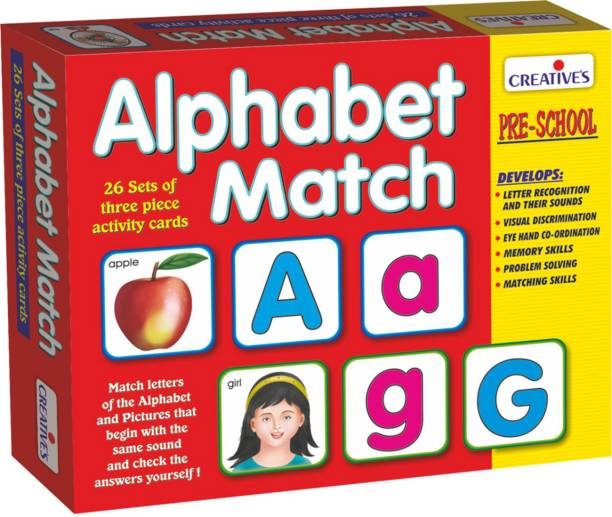 Creative Educational Aids Alphabet Match