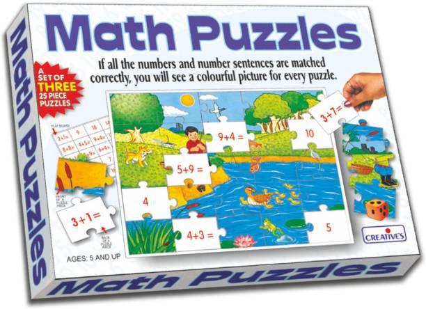 Creative Educational Aids Math Puzzles