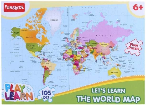 Online shopping india buy mobiles electronics appliances funskool world map puzzles educational game gumiabroncs Images