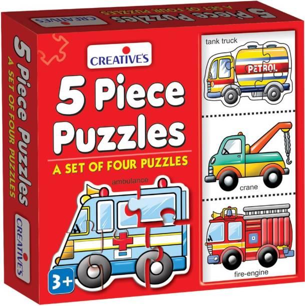 Creatives 5 Piece Puzzles