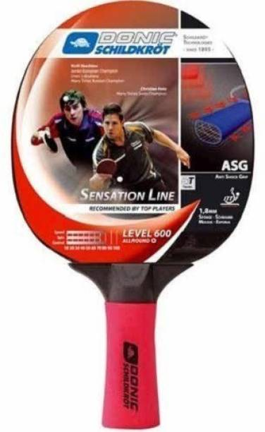 DONIC Sensation 600 Red, Black Table Tennis Racquet